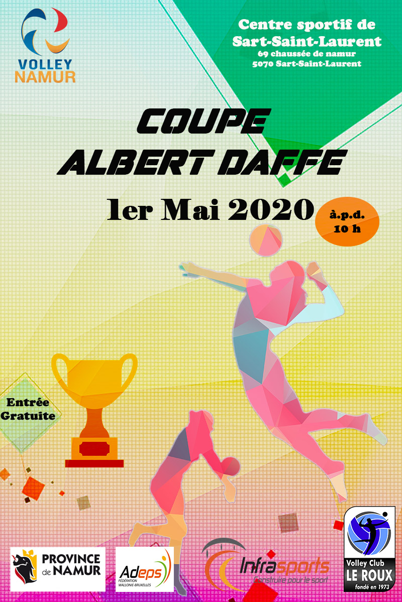 Coupe Albert Daffe 2020
